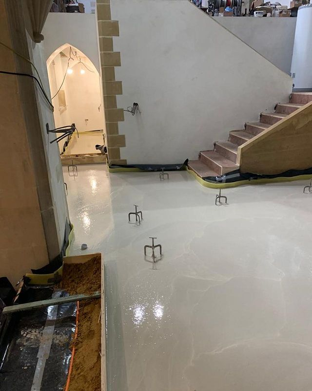 Screed Henley-on-Thames, church conversion.